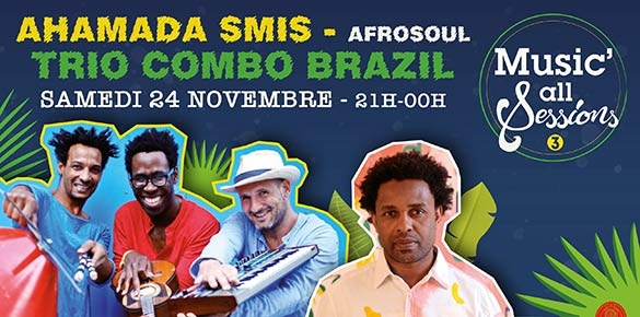 Ahamada Smis invité de Music'All Sessions