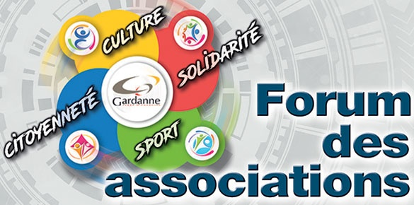 Le forum des associations, c'est le 8 septembre