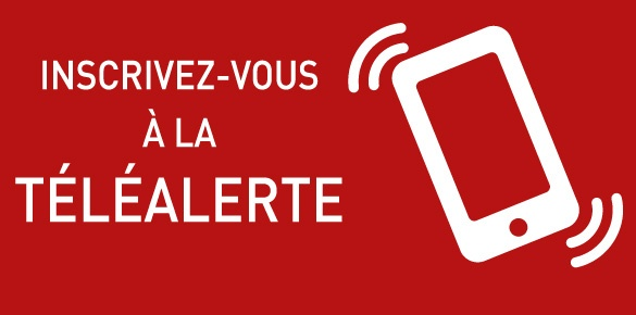 Inscription à la téléalerte