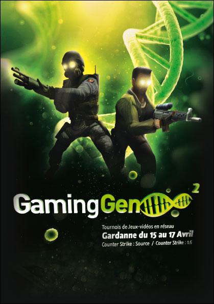 GamingGen 2 à la Halle tournois de Jeux-vidéo en réseau , Gardanne 15 au 17 avril 2011