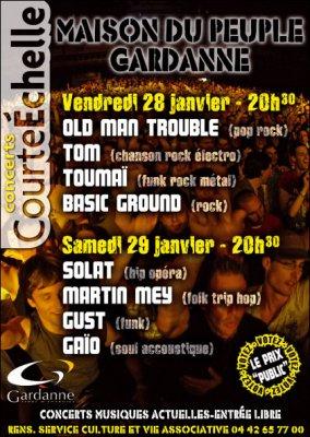 Deux soirées CourteEchelle fin janvier 2011 Gardanne